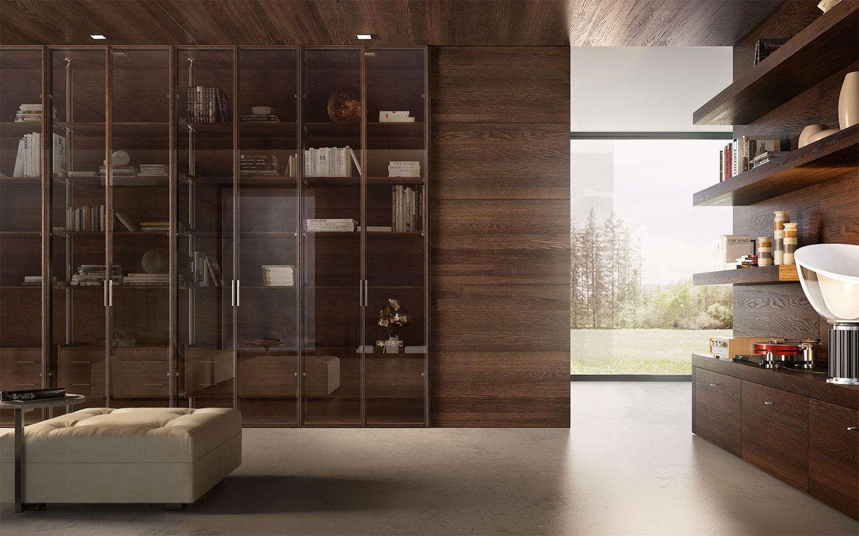 Emejing Armadio Per Soggiorno Gallery - Design Trends 2017 ...